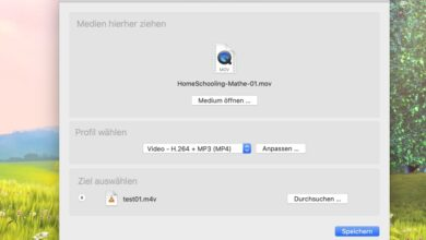 Medien konvertieren mit dem VLC Player