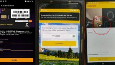 Photo of SIM-Karte mit Postident-Videochat freischalten, in Bildern