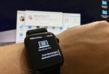 Macbook mit Apple Watch entsperren Anleitung