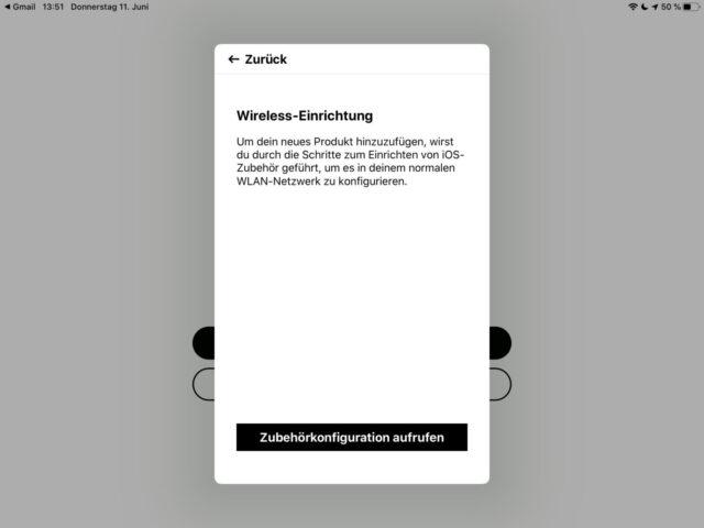 Sonos mit WLAN verbinden