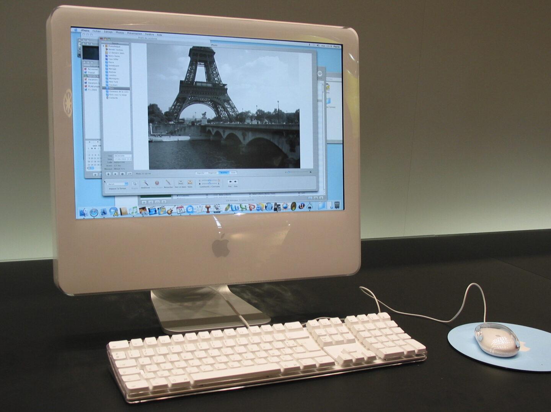 Der iMac G5 war der Hodfnungsträger. Ein Jahr später kam der Intel-Switch (Foto: Christian Rentrop)