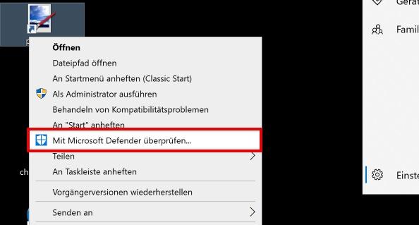 Microsoft Defender Check Virus