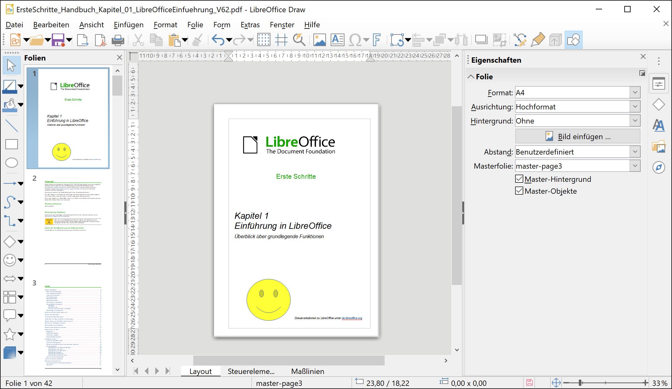 Mit Libre Office könnt Ihr PDFs ganz nach Euren Wünschen bearbeiten.