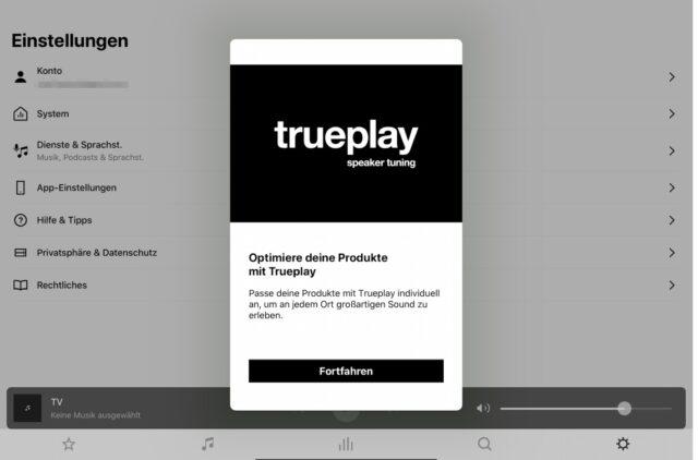 Sonos trueplay Android iOS
