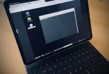 iPad Pro Linux Mint Distrotest