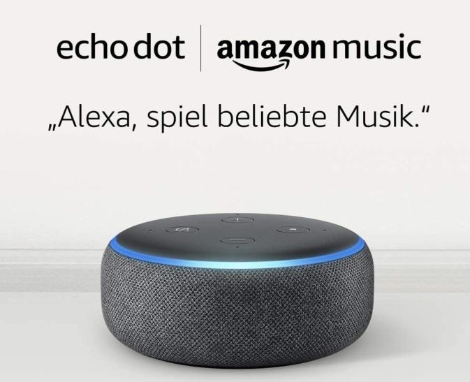 Echo Dot Amazon Music Unlimited