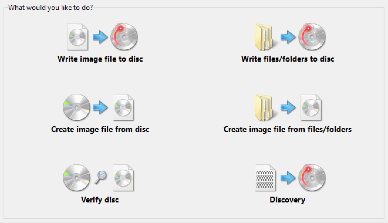 ImgBurn erstellt und brennt ISO-Dateien.