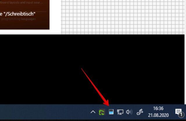 Windows 10 CPU Tray