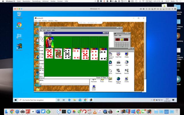 Windows 10 Windows 95 macOS