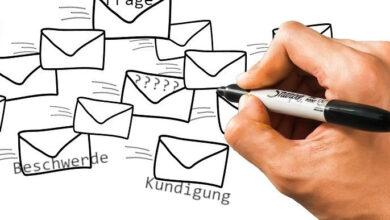 Bild von Kontakt per Mail: Adressen der Telekom- und Online-Riesen
