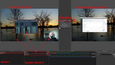 Bild von Anleitung: Szenen-basierte Screenvideos und Livestreams mit OBS Studio