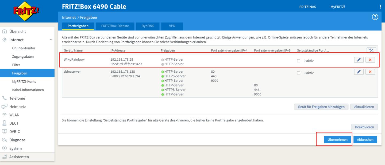 fritzbox-port-freigaben-screenshot