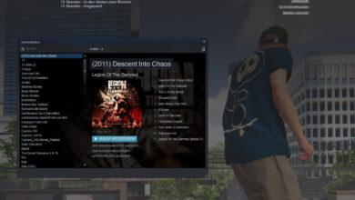 Bild von Steam: Eigene Musik in Spielen hören