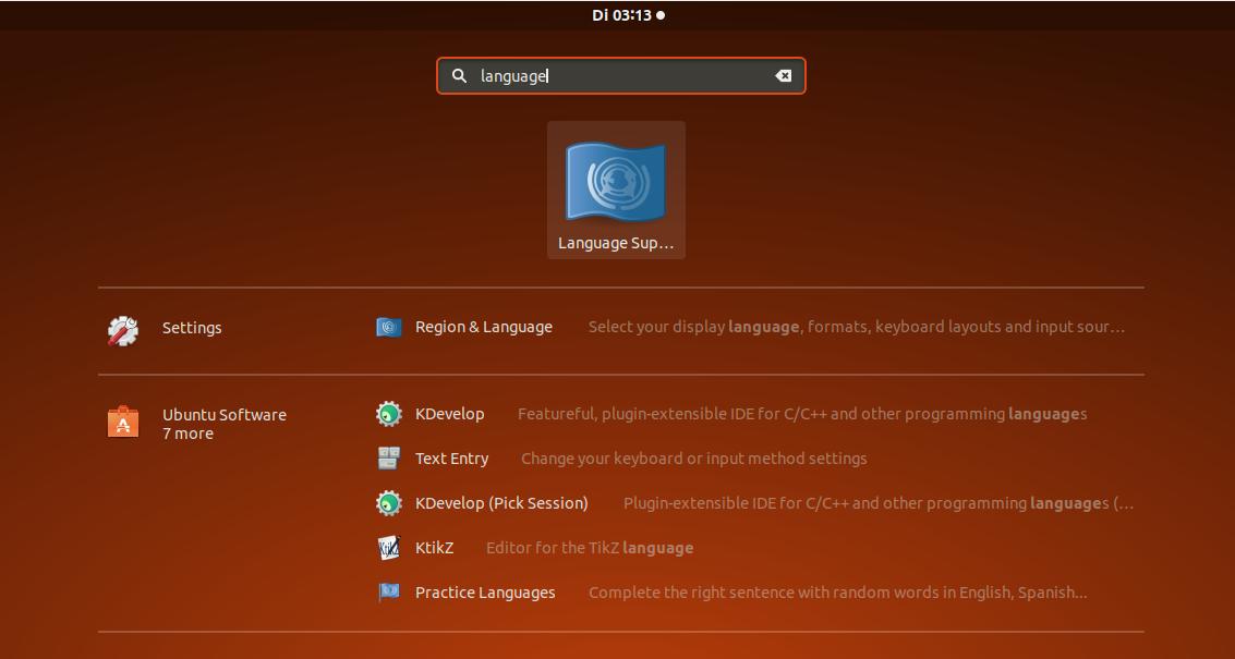 screenshot von ubuntu