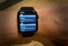 Bild von Apple Watch: Trainingsziele unter watchOS 7 anpassen