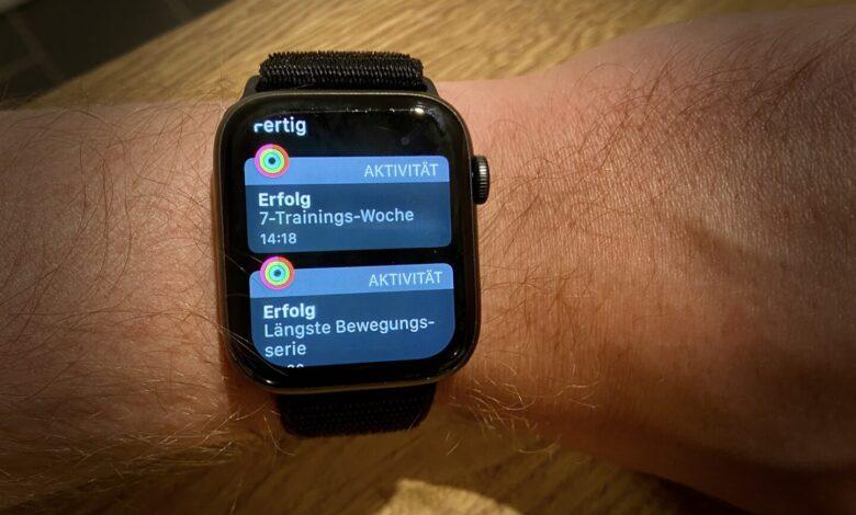 Apple Watch watchOS 7 Ziele