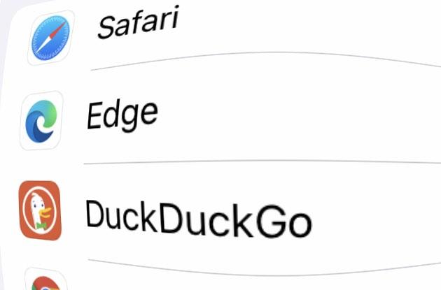 Unter iOS könnt Ihr jetzt den Standard-Browser wählen.