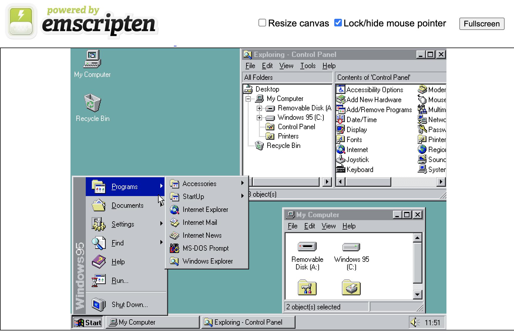 Windows 95 war nichts für zarte Gemüter.