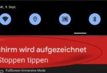 Bild von Android 11: Bildschirmvideos aufnehmen – so geht's