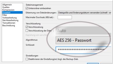 Bild von Backup für Windows: Immer Open Source, gerne Areca