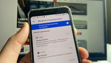 Android 11 Benachrichtigungen