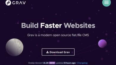 Bild von Wordpress-Alternative Grav: Einfach eine Website bauen