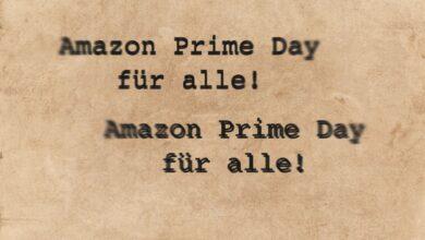 Bild von Amazon Prime Day Shopping ohne Prime-Abo