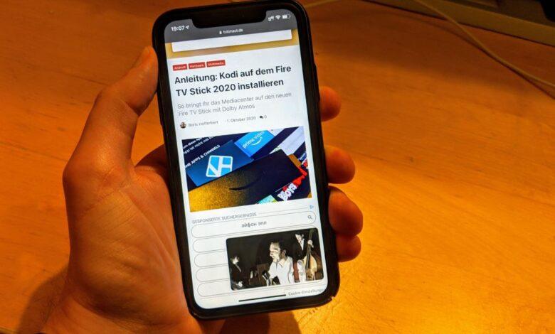 YouTube iPhone Bild im Bild Hintergrund