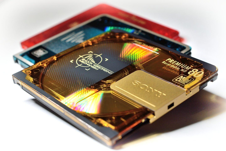 Die MiniDisc hatte erhebliches Potential – und Sony hat's verdödelt. (Bild: Frantisek Krejci/Pixabay)