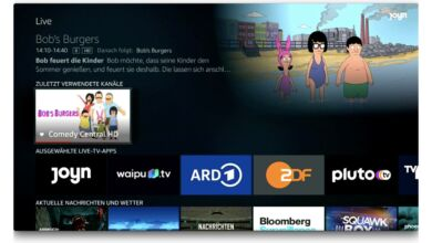 Amazon Fire TV Live-TV gucken