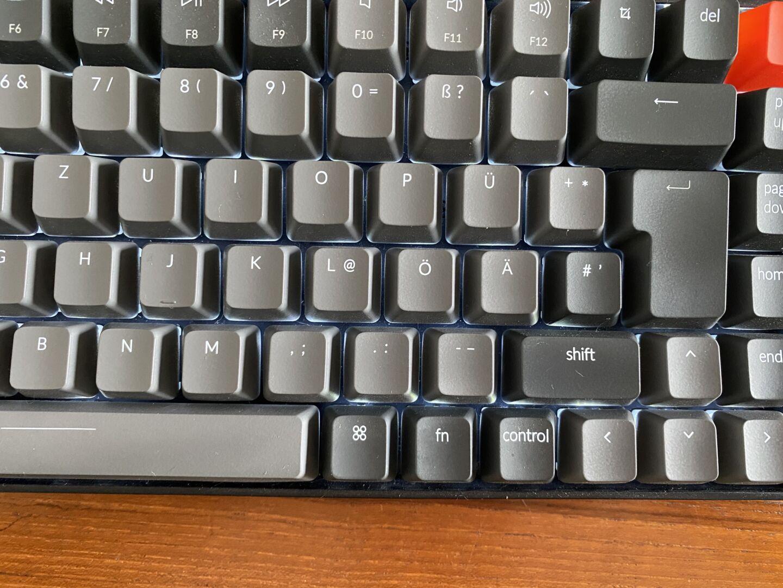 QWERTZ und Mac-Layout sind selten (Foto: Tutonaut)