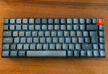 Die Keychron K2 ist eine mechanische Tastatur mit QWERTZ und Bluetooth für Mac und Windows (Foto: Tutonaut)