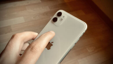 iPhone Doppeltippen Rueckseite