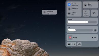 macOS Kontrollzentrum anpassen