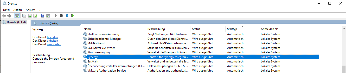 windows autostarts screenshot
