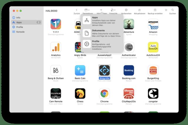 Vor kurzem konnten Apps noch per Sideloading installiert werden. Das geht derzeit nicht.