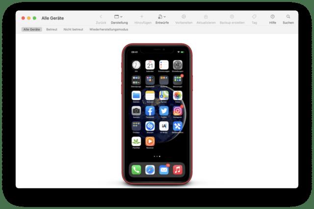 Der Apple-Configurator ist nicht nur für das Sideloading interessant.