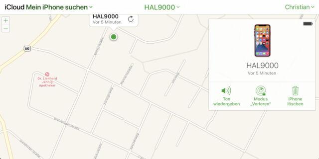 Die iPhone-Suche hilft, denn Passcode des iPhones zu löschen.