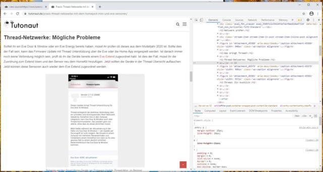 Chrome_Entwicklertools_Seite_untersuchen