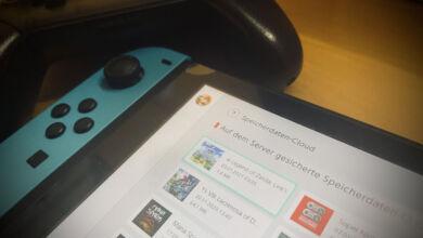Nintendo Switch Speicherdaten-Cloud