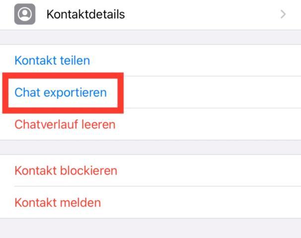 WhatsApp_Chat_exportieren
