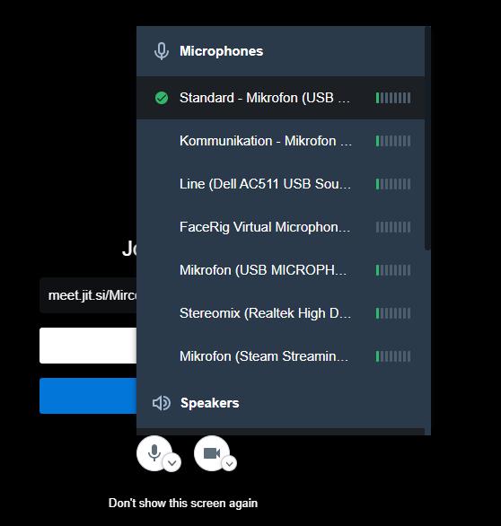 jitsi screenshot