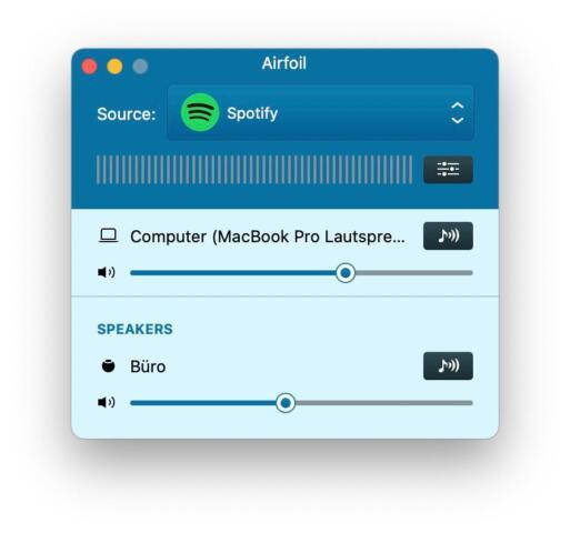 AirFoil Spotify Multiroom