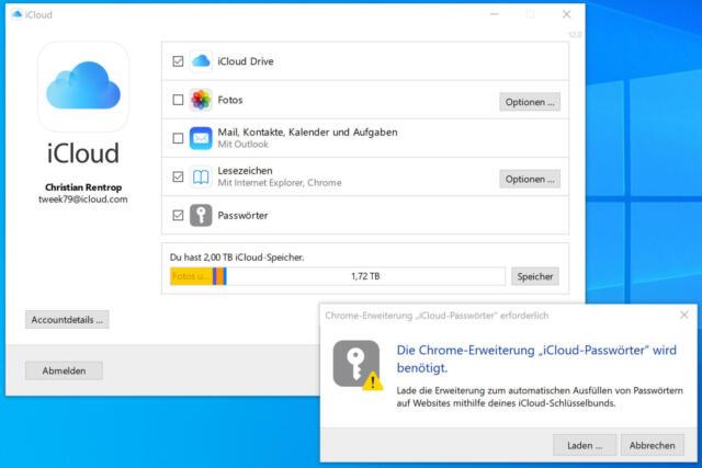 Nun müsst Ihr nur noch die Chrome-Erweiterung installieren.