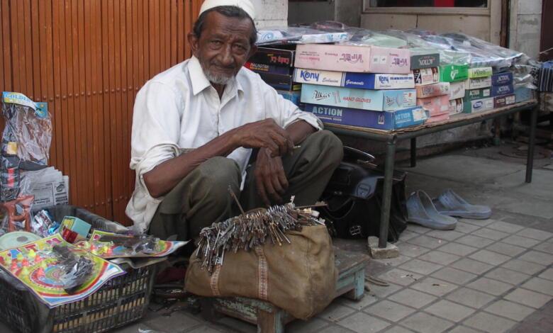 Straßenhändler in Indien: Gewisse Ähnlichkeiten mit Amazon sind nicht von der Hand zu weisen (Foto: C. Rentrop)
