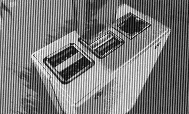 Der Raspberry Pi lässt sich bequem per USB booten.