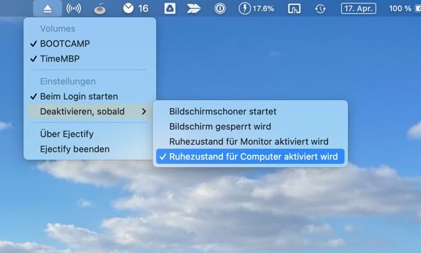 macOS Laufwerke automatisch auswerfen Anleitung