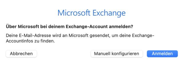 Am besten meldet Ihr Euch direkt über Microsoft an.