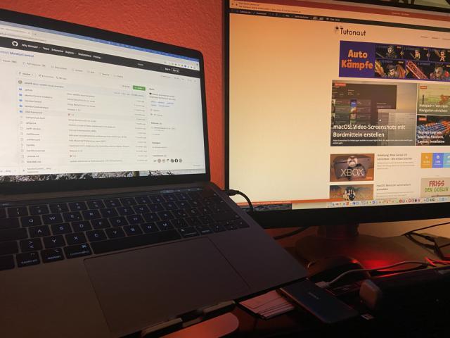 MacBook externen Monitor
