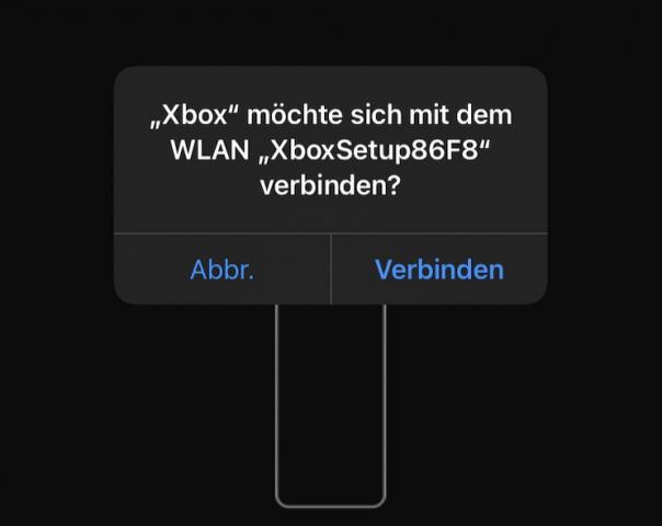 Smartphone_Xbox_WLAN_verbinden